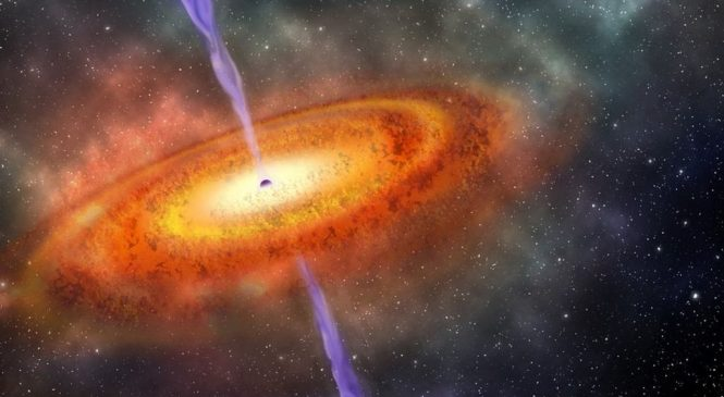 Farthest monster black hole found