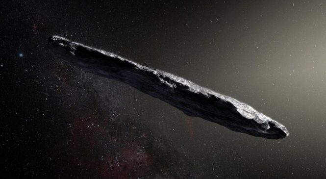 Interstellar object may hold 'alien' water