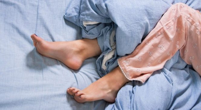 'My restless legs were like bees biting under my skin'