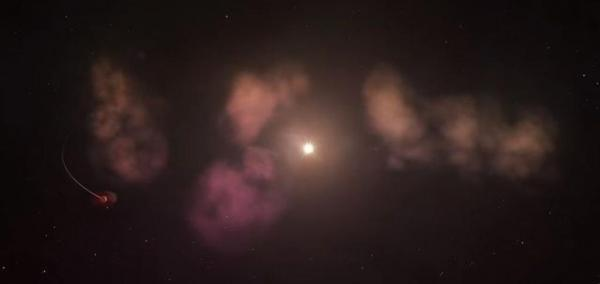 Astronomers think 'winking' star is consuming cloud of planetary debris