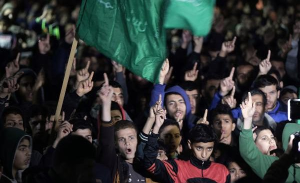 Palestinians protest Trump's Jerusalem decision