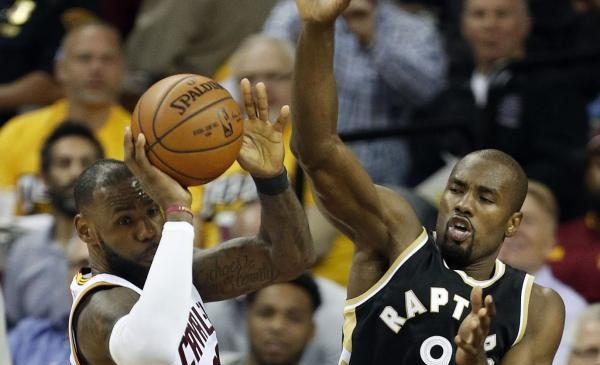 Toronto Raptors suspend forward Serge Ibaka for one game