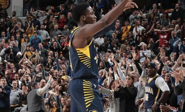 Victor Oladipo helps Indiana Pacers snap Cleveland Cavaliers' win streak at 13 games