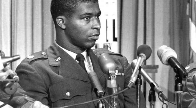 First black astronaut honored on 50th anniversary of death