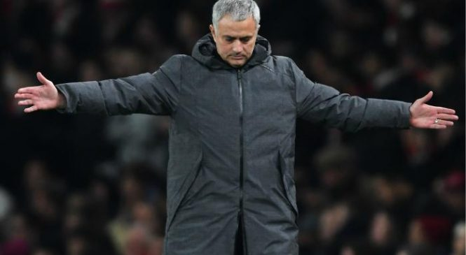 Jose Mourinho hails Manchester United players for 'giving everything' against Arsenal