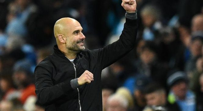 Pep Guardiola impressed by Manchester City's never say die attitude