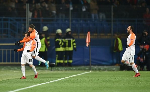 Shakhtar Donetsk 2-1 Manchester City: Pep Guardiola's side suffer first defeat of the season