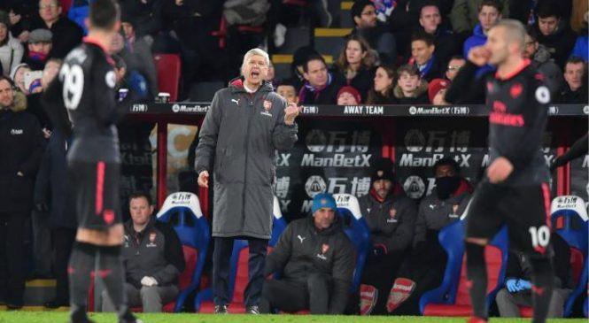 Crystal Palace 2-3 Arsenal: Arsene Wenger enjoys away day victory