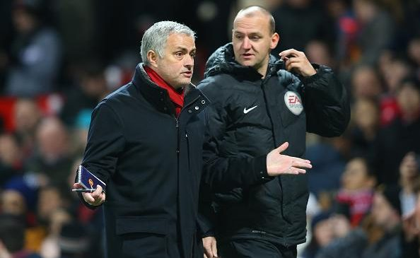 Jose Mourinho blames referees for bad form as Manchester United held at home to Southampton