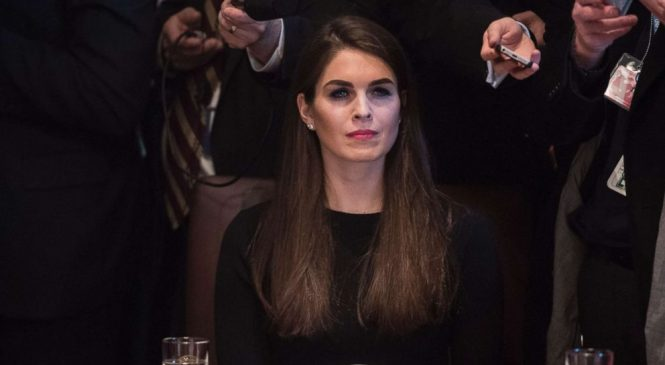 Hope Hicks met with special counsel's team for interviews
