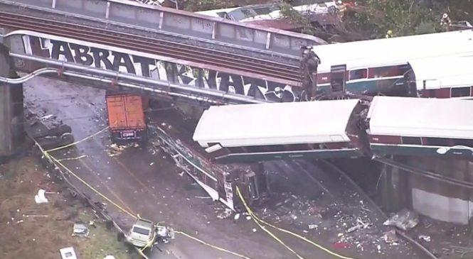 Amtrak Washington train crash: Investigators focus on speed