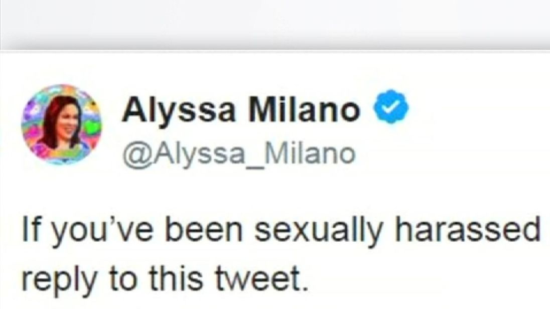 Alyssa Milano started the 'Me Too' campaign to highlight the scale of sexual assault