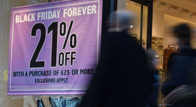 Black Friday delivers retail sales boost