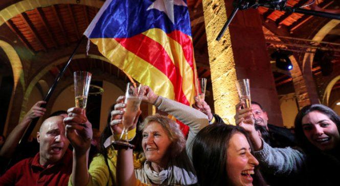 Ex-Catalan leader claims win for separatist bloc