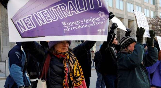 US regulator votes to repeal net neutrality laws