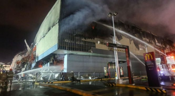 'Zero chance' of survival after Philippines mall fire