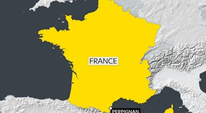 Four children die as French train hits school bus