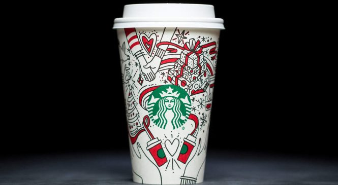Here Is Every Starbucks Holiday Beverage, Ranked from Least to Most Calories