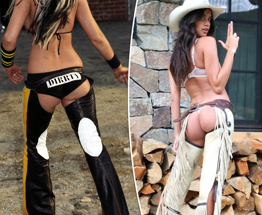 Celebs embracing the sexy assless chaps trend