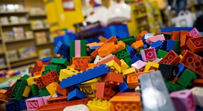 Lego legend: UK shop gets 60th birthday makeover