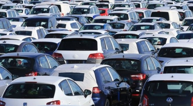 UK car sales see first drop for six years