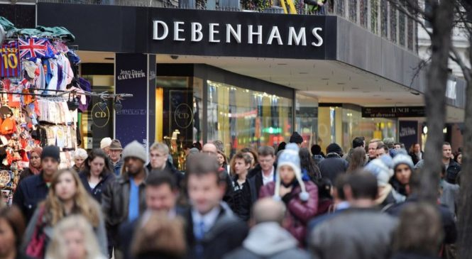 Debenhams shares dive after weak Christmas trade