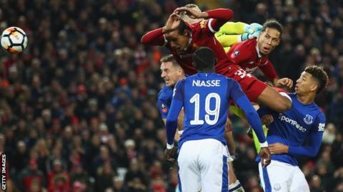 Van Dijk scores winner on debut as Liverpool beat Everton