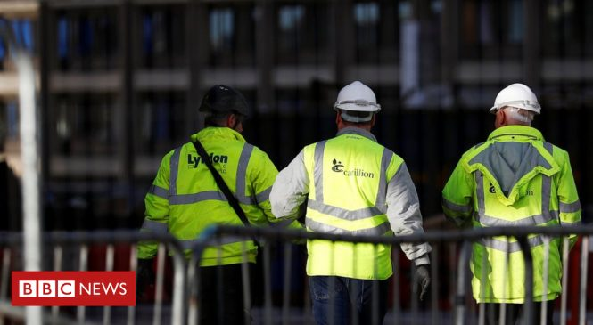 Carillion: Government 'inept' over crisis, says GMB boss