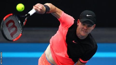 Edmund reaches first Grand Slam quarter-final