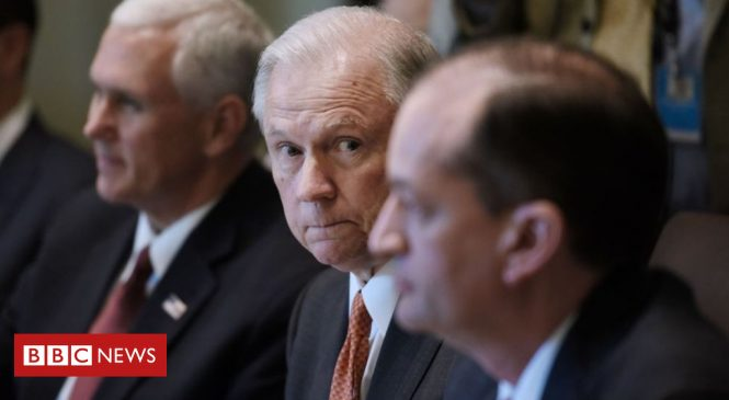 Trump-Russia: Jeff Sessions questioned in Mueller inquiry