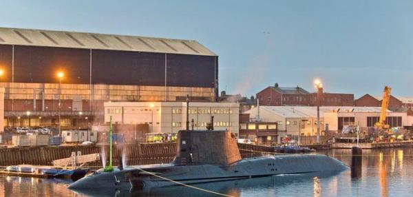 British submarine HMS Audacious completes first dive