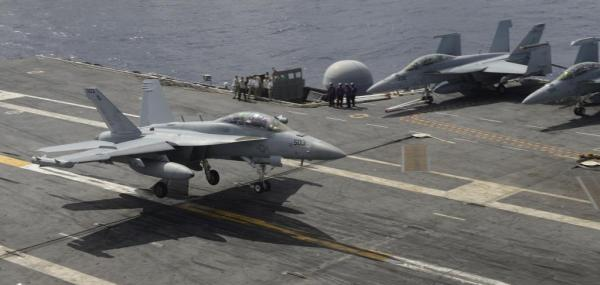 GE contracted for repair services on Super Hornet, Growler aircraft
