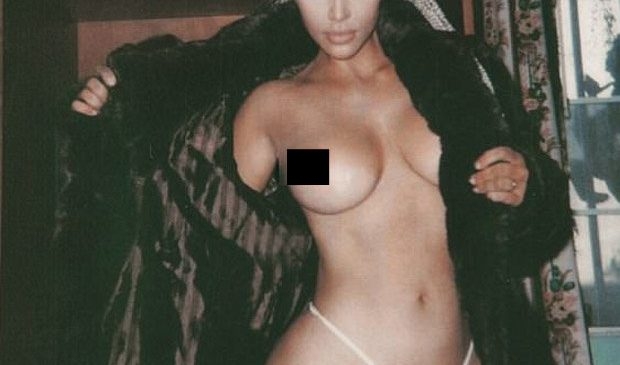 New topless Kim Kardashian pic sparks backlash from Piers Morgan