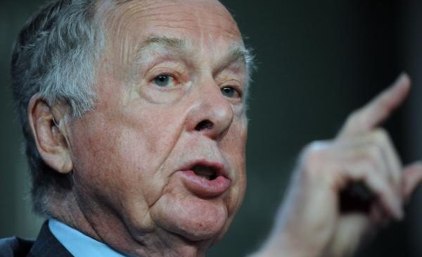 The oil trade is no longer intriguing, T. Boone Pickens says