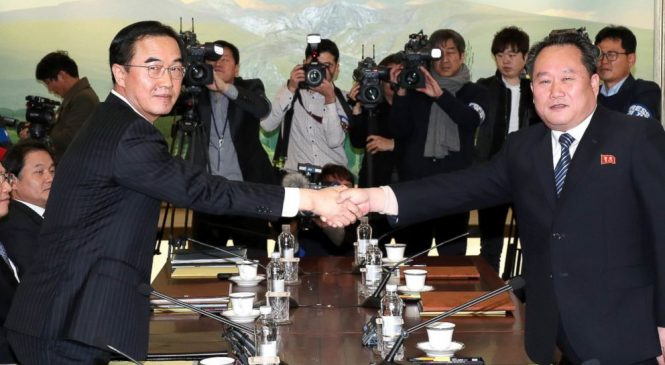 North Korea will send Olympic team to South as countries hold high-level talks