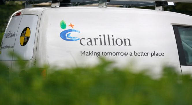 Ailing Carillion races to find emergency funds