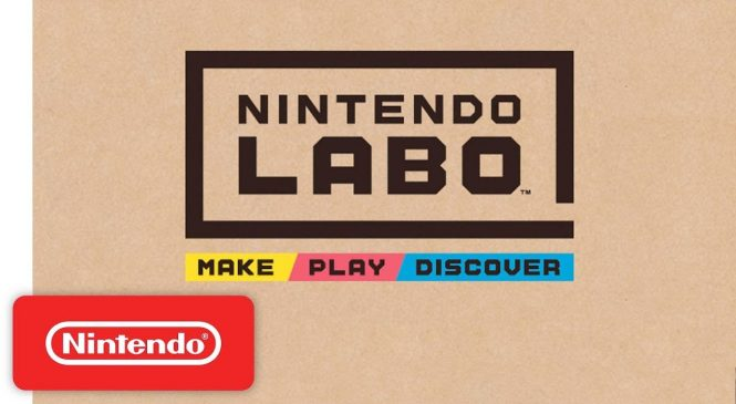Nintendo Labo: The DIY cardboard accessory for Switch