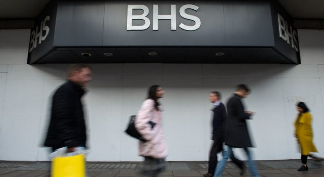 BHS demise triggered £1bn in creditor claims