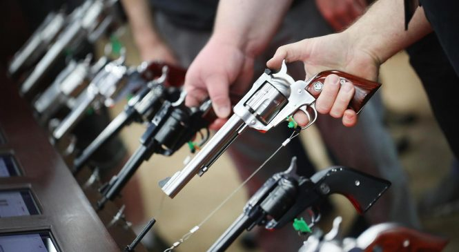 Your retirement account might be invested in guns. Changing that isn't easy