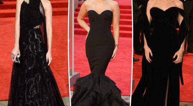 Kate Middleton breaks BAFTA 2018 black dress code with green gown