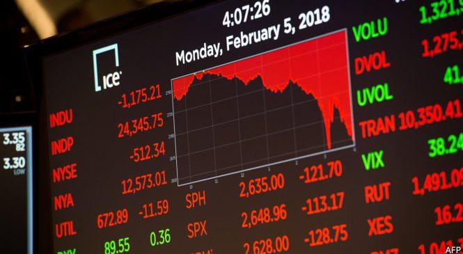 How to interpret a market plunge