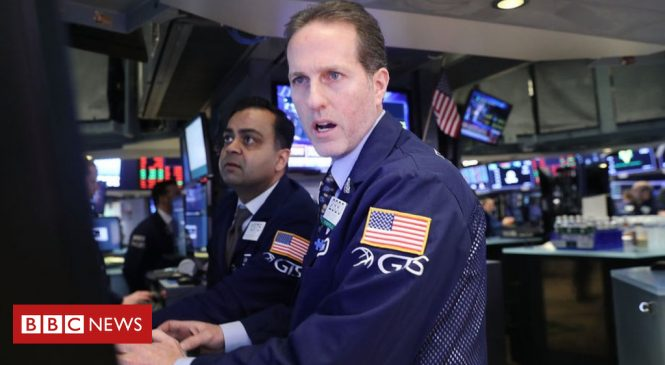 Dow Jones hit by worst fall since 2008