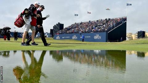 'Golf courses crumbling into the sea' – Open venues could disappear, says new climate report