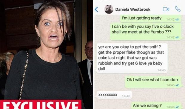 Danniella Westbrook 'begs' for cocaine on sun break after vowing to clean up her act