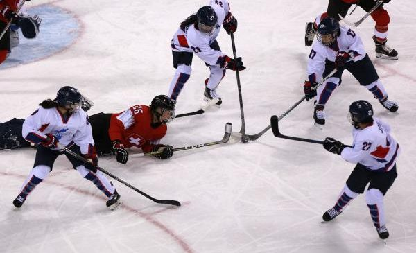 Joint Korean women's hockey team loses opener 8-0