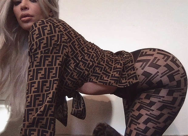 Kim Kardashian Instagram bikini pic