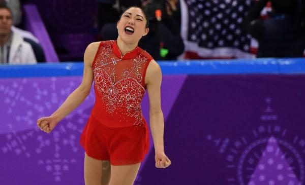 Mirai Nagasu becomes first American woman to land triple axel at Olympics