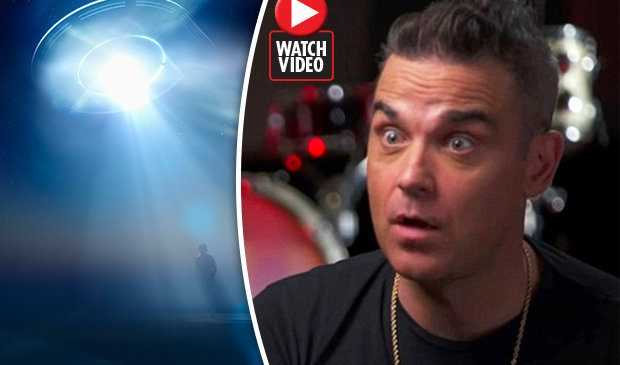 'I could've hit it with a tennis ball' Robbie Williams lifts lid on bombshell UFO sighting