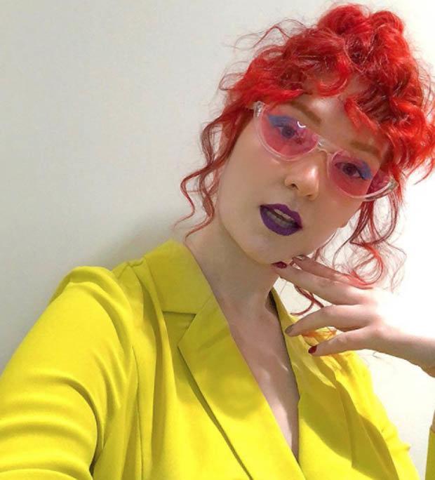 Victoria Clay selfie