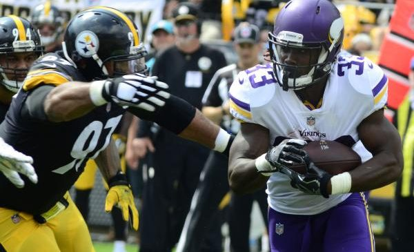 Vikings RB Cook on mend from knee injury